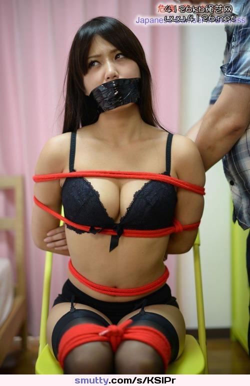 first anal scream porn her first anal screaming orgasm #asian #bondage #bdsm #tied #rope #ducttape #tapegag #stockings #lingerie