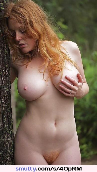 big natural tits mona lee exposed in the street #redhair#gorgeous
