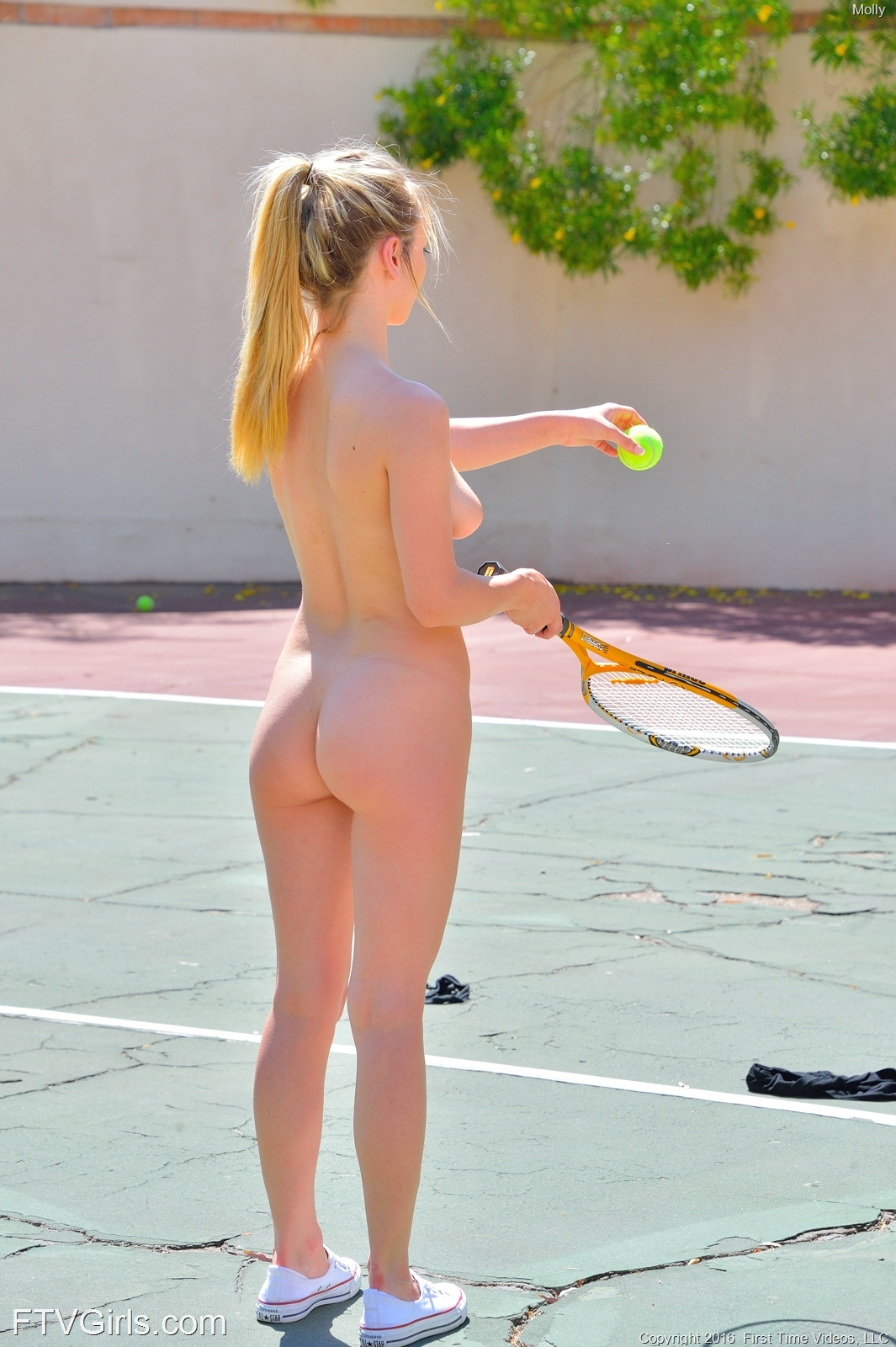 lonely wife seduce postman fuck hard free sex videos #MollyMae #Nudity #outdoors #tennis #ponytail #blonde
