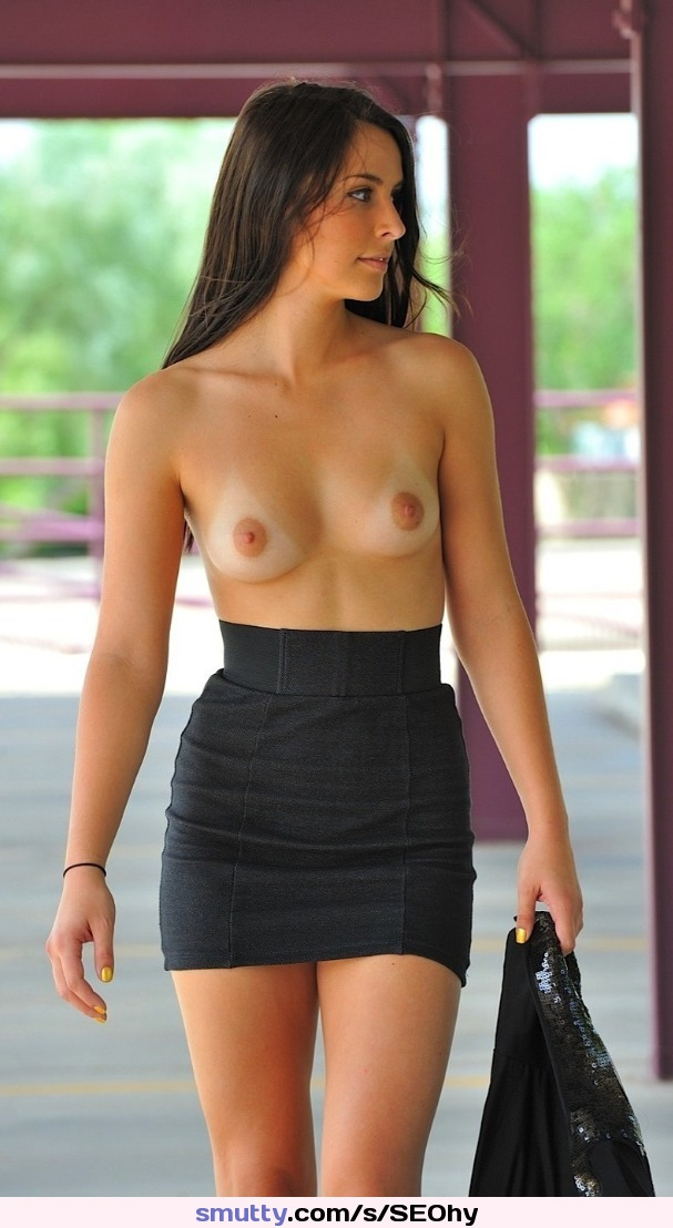 charmaine sinclair standing topless on location