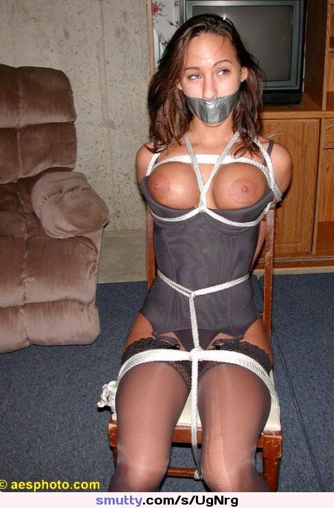 tips on how to ride a dick #asian #bondage #bdsm #tied #rope #ducttape #tapegag #stockings #lingerie