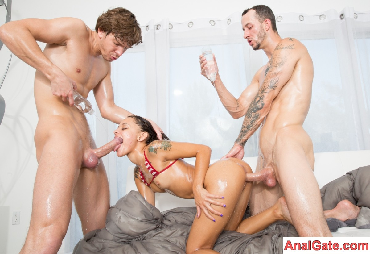 madison anal in ripped yoga pants foursome porn video
