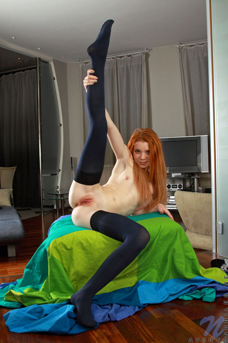 Teen Petite Waif Redhead Tinytits Flatchest Smoothpussy Shavedpussy Thighhighs Spreadlegs Showoff