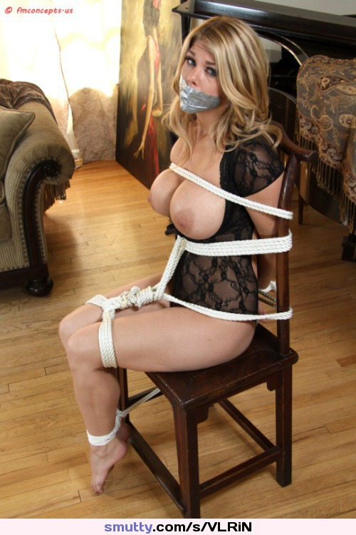 wwe gif find share on giphy #bigboobs #blonde #bound #closset #crotchrope #milf #panties #rope #tape #tapegag #tied